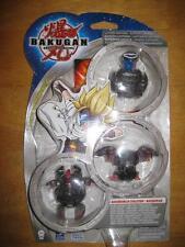 Bakugan Translucent Bakubrawler Evolution HYDRANOID 3 Pack Darkus New Vestroia