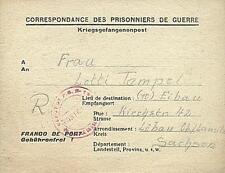 POW Camp 133 Brioude France 1946 German Prisoner of War Kriegsgefangenenpost 27