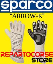 """GUANTI SPARCO KART """"ARROW KG-7"""" BIANCO ADULTO -  002532"""