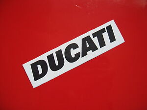 DUCATI sticker/decal x2