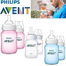 Biberons de repas et d'allaitement AVENT à débit lent pour bébé