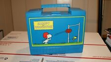 Vintage Snoopy and Woodstock Peanuts 1970 Lunch Box Thermos