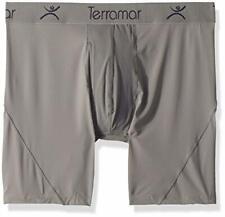 """Terramar Men's Microcool Mesh 6"""" Boxer Briefs Underwear"""