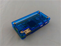 New Blue Acrylic Case Enclosure Cover Housing Box Shell For Raspberry PI Zero