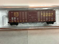 FOX VALLEY N SCALE~ FMC 5347 SD BOX CAR~ WISCONSIN CENTRAL~ ROAD NUMBERS VARY