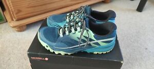Merrell Womens All Out Charge Lightweight Walking Hiking Shoes Trail Running...