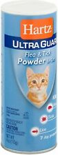 Hartz UltraGuard Flea - Tick Powder for Cats 4 oz