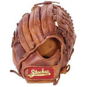 Shoeless Joe 12.5-Inch Basket Weave Pocket Adult Baseball Glove