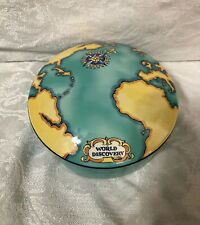 Tiffany & Co. Tauck World Discovery Porcelain Trinket Box/Dish 2000