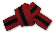 Stripe Belt 4cm Wide Double Wrap for Karate / Taekwondo / Judo / Kendo / Hapkido