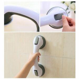 Bathroom Shower Tub Room Super Grip Suction Cup Safety Handles Grab Design L6E4