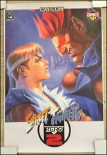 STREET FIGHTER ZERO II 2 Alpha capcom Retro arcade POSTER