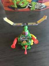 1991 Teenage Mutant Ninja Turtles Mike's Pizza Chopper Backpack TMNT Accessory