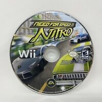 Need for Speed Nitro (Nintendo Wii 2009) Tested and Works - Disc Only