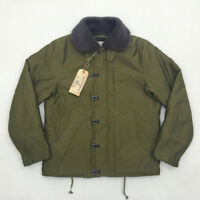BOB DONG USN N-1D Deck Jackets WW2 Uniform Winter Vintage Military Men Coat