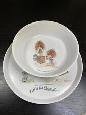 New listing Vintage Urchins American Greetings Elena Fun Is For Sharing Oneida 2 Pc Child