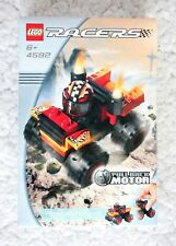 LEGO RACERS: RED MONSTER (4592). PULL BACK MOTOR. RETIRED 2002 BRAND NEW IN BOX!
