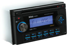BOSS AUDIO 822UA 2 DOUBLE DIN CAR CD/MP3/USB/AUX/iPOD PLAYER RADIO STEREO