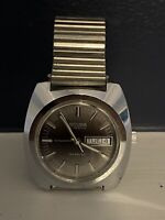 Vintage Sicura Breitling Automatic 17 Jewel Men's Watch - Working