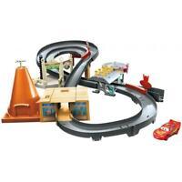 Pixar Cars Race Around Radiator Springs Playset Boy Toy Track Lightning McQueen