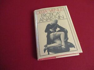 Delta of Venus Erotica by Anais Nin (1977) 1st/1st Edition Hardcover Book