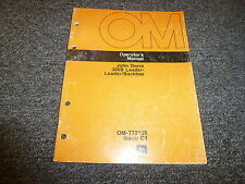 John Deere 300B Loader Backhoe Owner Operator Manual OMT72109