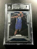 ZION WILLIAMSON 2019 PANINI PRIZM #248 VARIATION ROOKIE RC BGS 9 W/3 9.5 SUBS A