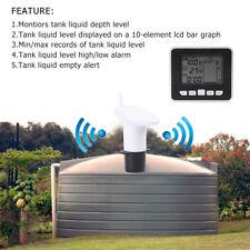 Ultraschall Wassertank Füllstandsmesser Flüssigkeits Tiefen Niveau Meter Sensor.