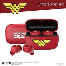 官方授權 A&S TWS02SE - Wonder Woman 真無線藍牙耳機 (神奇女俠特別版)- 香港行貨