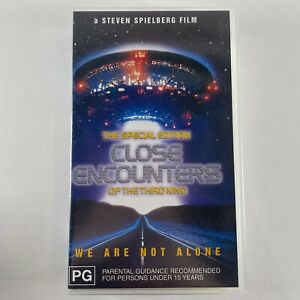 Close encounters of the third kind VHS new and sealed