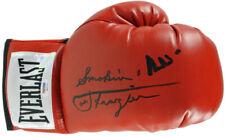 "Muhammad Ali & ""Smokin"" Joe Frazier Authentic Signed Boxing Glove PSA #6A62553"