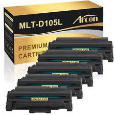 5PK MLT-D105L Toner Cartridge fit for Samsung SF-650 650P SCX-4600 4623F ML-2525