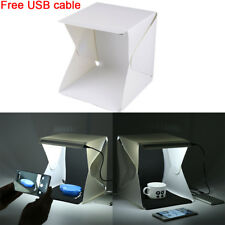 Light Box Tent Kit Portable Photo Studio Mini Light Room Photograhy Background