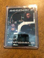 CAPTAIN AMERICA & NICK FURY Avengers Assemble Duo Memorabilia AD-11 Marvel