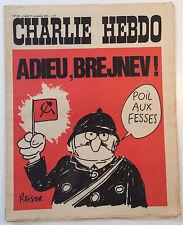 CHARLIE HEBDO n°50 ¤ 1971 ¤ Couv REISER ADIEU BREJNEV / CABU / WOLINSKI