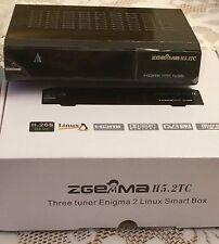 ZGEMMA H5.2TC HD TRIPLE TUNER RECEIVER with 12 month warranty