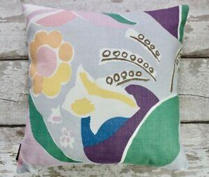 Duncan Grant Floral Cushion Cover. Vintage Retro Flower Laura Ashley Pillow Case