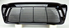 Toyota Tacoma 05-09 Billet Style Front Gloss Black Bumper Hood Grill