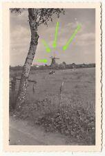 Foto Windmühle windmill windmole Graal - Müritz um 1935 ! (F411