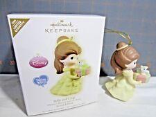 """2009 Hallmark QXE3092 """"Precious Moments - Belle and Chip""""  Ornament"""