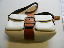 Coach Soho Handbag Purse Leather White With Dust Bag  M04S-1446 Vintage