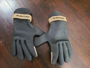 Aleutian Neoprene Waterproof Gloves, Water Skiing, Fishing, Water Working Size L