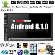 "Android 8.1 AUTORADIO mit Navigation NAVI BLUETOOTH WIFI GPS 2 DOPPEL DIN MP3 7"""