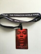 Original Beyoncé The Formation World Tour Vip Pass