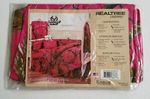 Pink Camo Nursery Diaper Stacker Holder Realtree Indoors APC Fuschia Decor