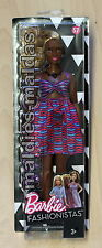 Barbie Fashionistas Glam im Kleid mit Tribal Muster  DVX79 NEU/OVP Puppe