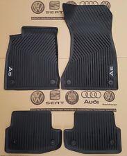 Audi A5 Coupe 8W B9 original Fußmatten Gummimatten vorne hinten Gummifußmatten