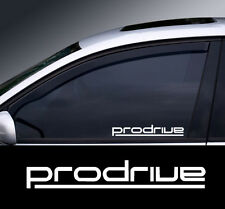 Prodrive Logo Window Decal Sticker Graphic *Colour Choice*