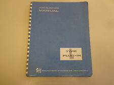 Tektronix Type L Plug-In Unit Fast Rise Calibrated Preamp Instruction Manual