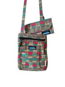 Kavu Womens Crossbody Purse Bag Wallet Adjustable Strap Southwest Tribal Print